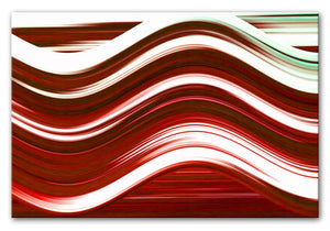 Abstract Wave Print - Canvas Art Rocks - 3