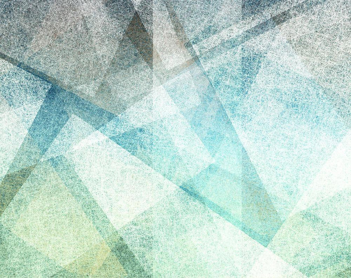 Abstract paper geometric Wall Mural Wallpaper