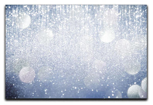 Abstract silver lights Canvas Print or Poster  - Canvas Art Rocks - 1