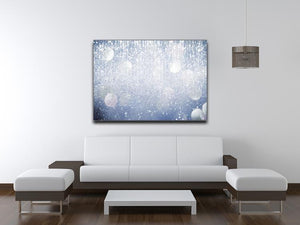 Abstract silver lights Canvas Print or Poster - Canvas Art Rocks - 4