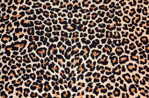 Abstract texture of leopard Wall Mural Wallpaper - Canvas Art Rocks - 1