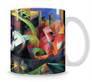 Abstract with cattle by Franz Marc Mug - Canvas Art Rocks - 1