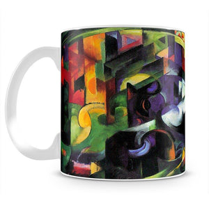 Abstract with cattle by Franz Marc Mug - Canvas Art Rocks - 2