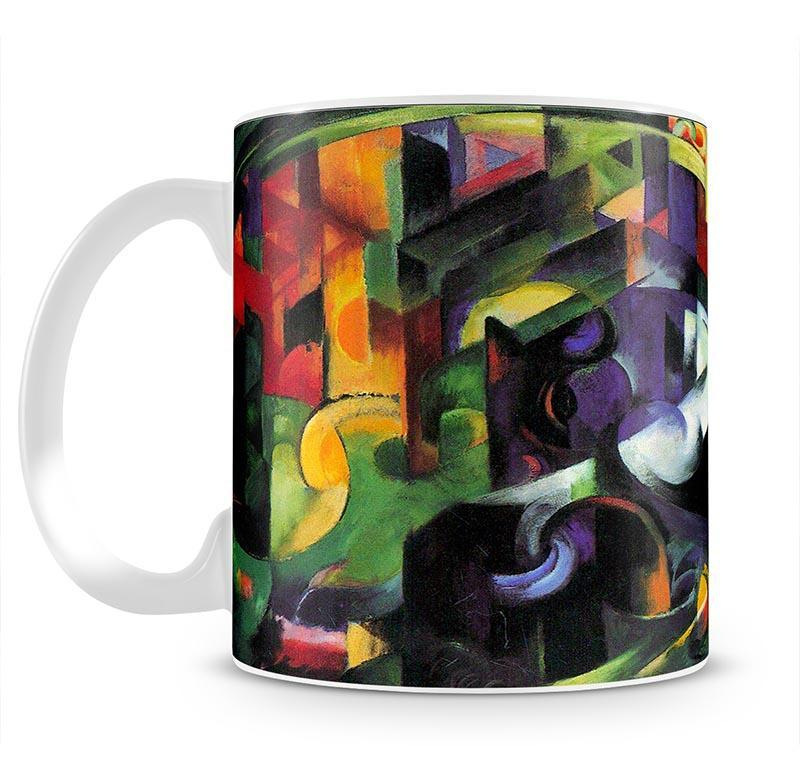 Abstract with cattle by Franz Marc Cup - Canvas Art Rocks - 2