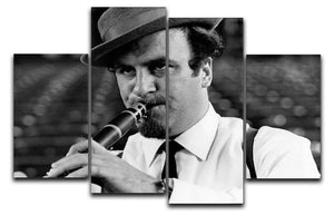 Acker Bilk 4 Split Panel Canvas - Canvas Art Rocks - 1