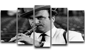 Acker Bilk 5 Split Panel Canvas - Canvas Art Rocks - 1