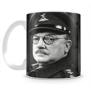 Actor Arthur Lowe as Captain Mainwaring Mug - Canvas Art Rocks - 2