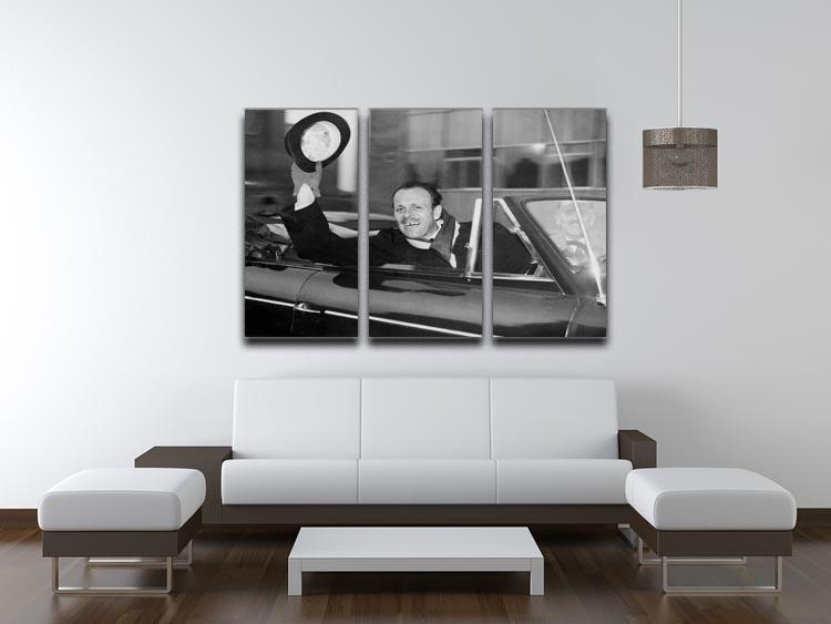 Actor Terry Thomas 3 Split Panel Canvas Print - Canvas Art Rocks - 3
