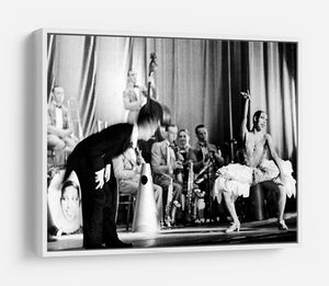 Actress Josephine Baker at the Prince Edward theatre HD Metal Print - Canvas Art Rocks - 7