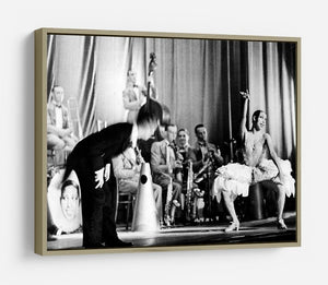 Actress Josephine Baker at the Prince Edward theatre HD Metal Print - Canvas Art Rocks - 8