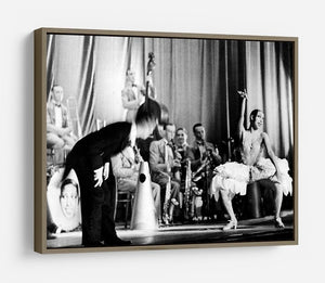 Actress Josephine Baker at the Prince Edward theatre HD Metal Print - Canvas Art Rocks - 10