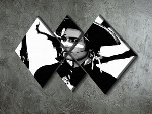 Adam Ant 4 Square Multi Panel Canvas - Canvas Art Rocks - 2
