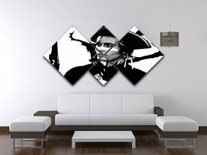 Adam Ant 4 Square Multi Panel Canvas - Canvas Art Rocks - 3