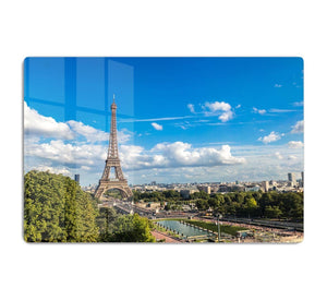 Aerial view of the Eiffel Tower HD Metal Print