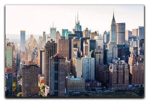 Aerial view of the New York City Canvas Print or Poster  - Canvas Art Rocks - 1