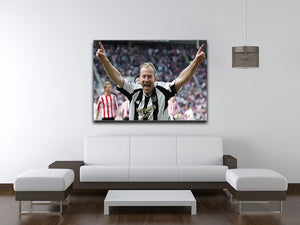 Alan Shearer Print - Canvas Art Rocks - 4