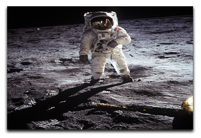Aldrin Apollo 11 Canvas Print or Poster