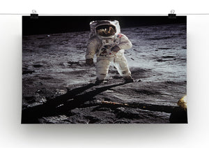 Aldrin Apollo 11 Print - Canvas Art Rocks - 2