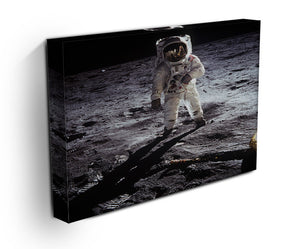 Aldrin Apollo 11 Print - Canvas Art Rocks - 3