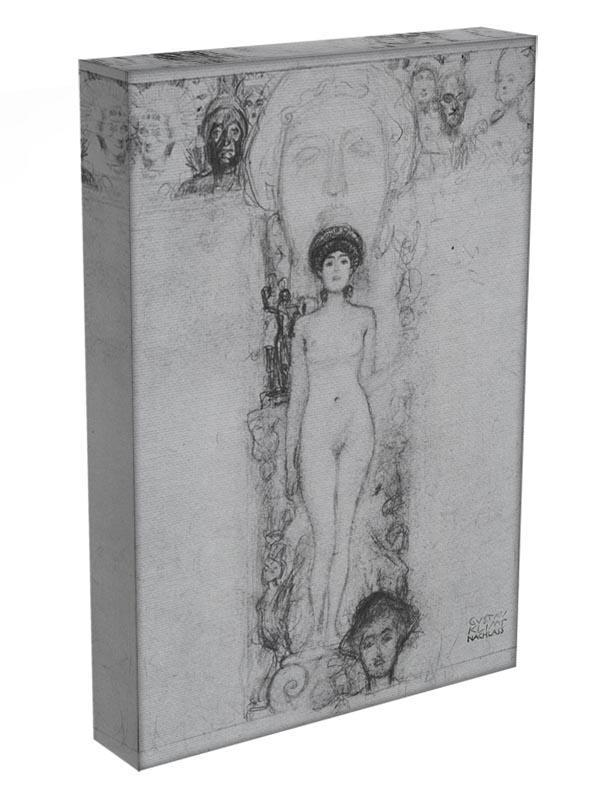 Allegory of Sculpture by Klimt Canvas Print or Poster - Canvas Art Rocks - 3