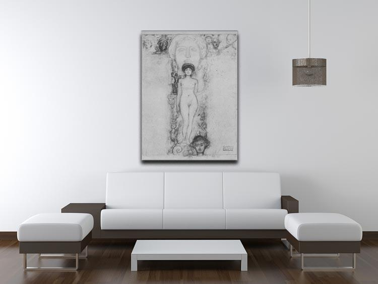 Allegory of Sculpture by Klimt Canvas Print or Poster - Canvas Art Rocks - 4