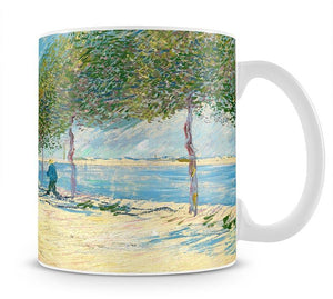 Along the Seine by Van Gogh Mug - Canvas Art Rocks - 1