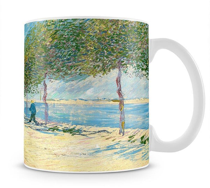 Along the Seine by Van Gogh Mug