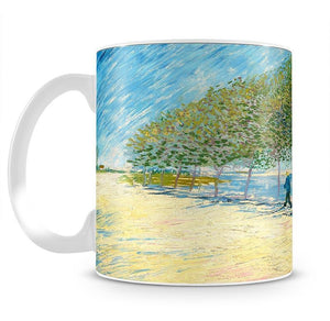 Along the Seine by Van Gogh Mug - Canvas Art Rocks - 2