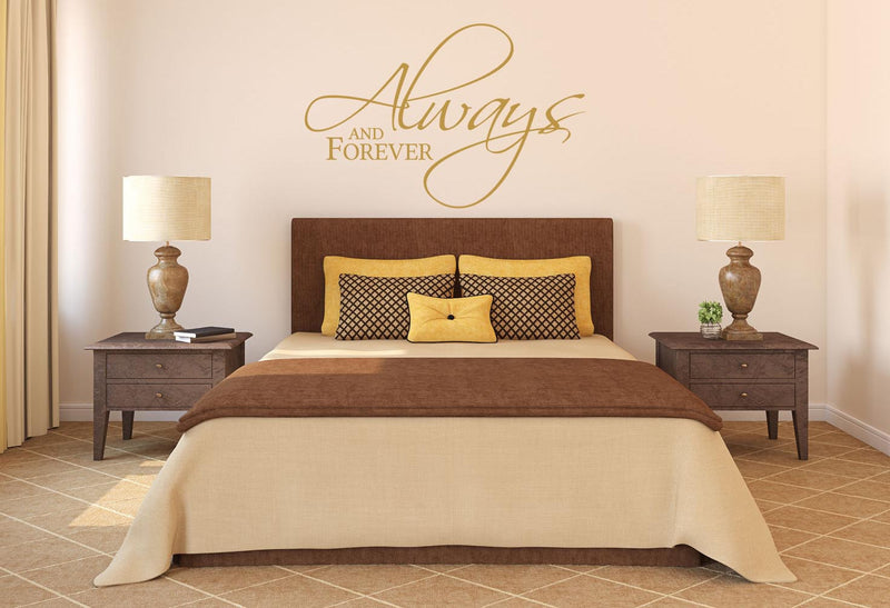 Always And Forever Wall Decal - Canvas Art Rocks - 1