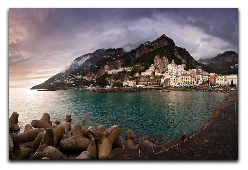 Amalfi Print - Canvas Art Rocks - 1