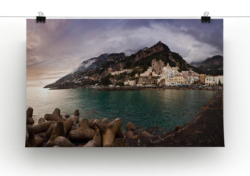 Amalfi Print - Canvas Art Rocks - 2