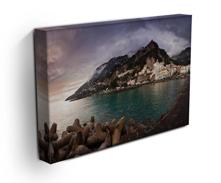 Amalfi Print - Canvas Art Rocks - 3