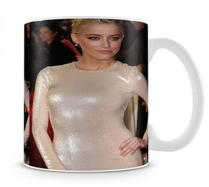 Amber Heard Mug - Canvas Art Rocks - 1