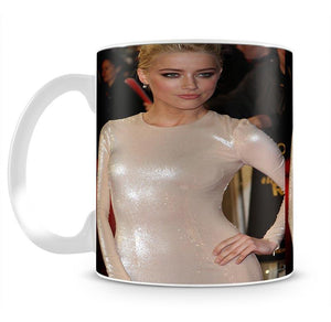 Amber Heard Mug - Canvas Art Rocks - 2