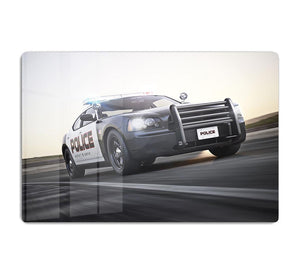 American Police Car HD Metal Print