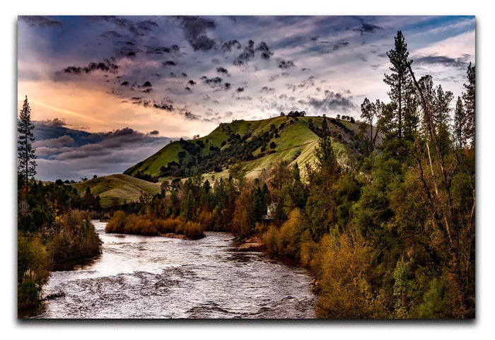 American River Canvas Print or Poster