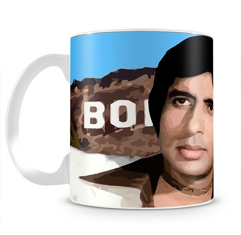 Amitabh Bachchan Bollywood Cup - Canvas Art Rocks - 2