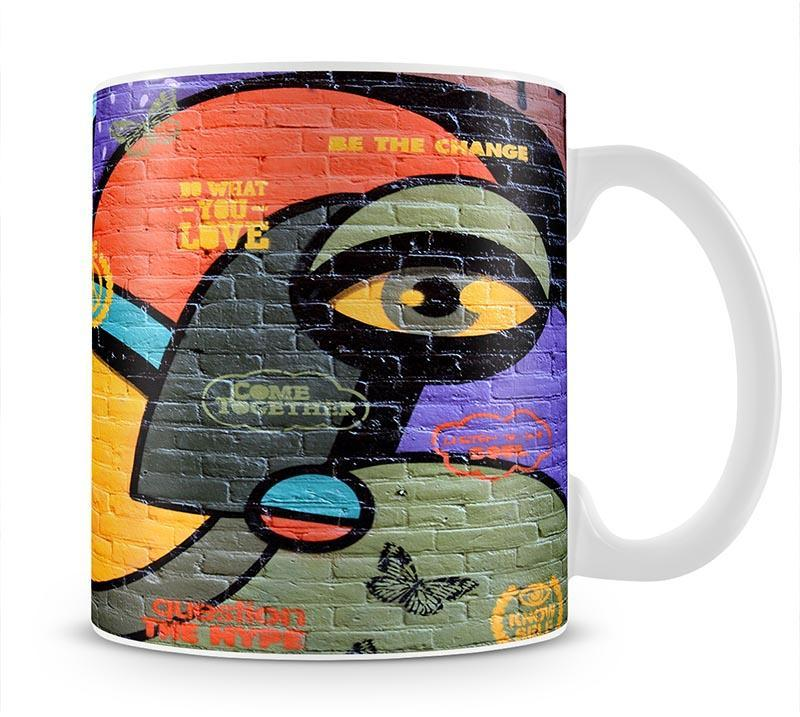 Amsterdam Graffiti Mug - Canvas Art Rocks - 1