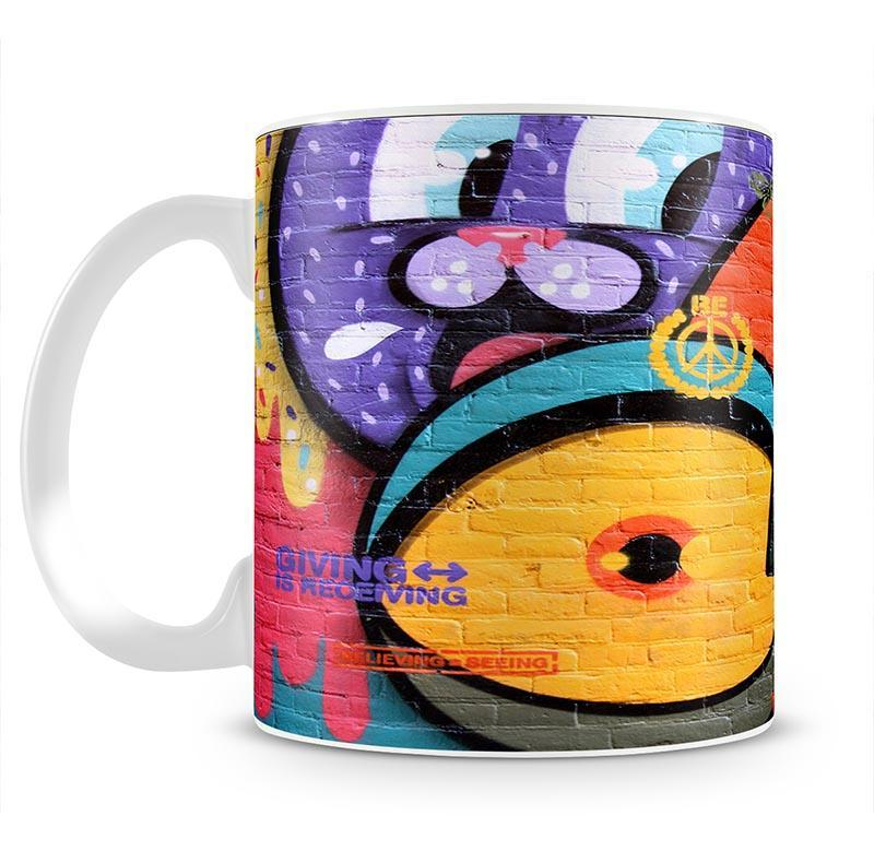 Amsterdam Graffiti Mug - Canvas Art Rocks - 2