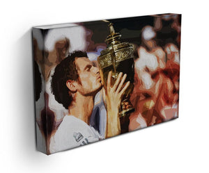 Andy Murray Wimbledon Winner Print - Canvas Art Rocks - 3