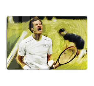 Andy Murray Wimbledon HD Metal Print