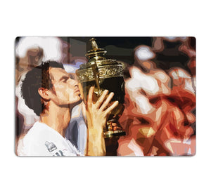 Andy Murray Wimbledon Winner HD Metal Print
