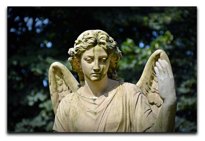 Angel Statue Canvas Print or Poster