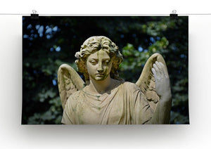 Angel Statue Print - Canvas Art Rocks - 2