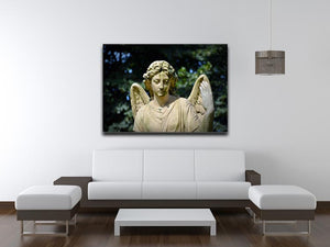 Angel Statue Print - Canvas Art Rocks - 4