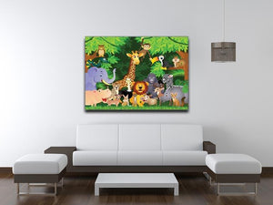 Animal cartoon Canvas Print or Poster - Canvas Art Rocks - 4