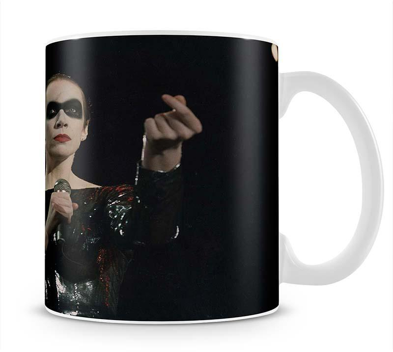 Annie Lennox in concert Cup - Canvas Art Rocks - 1