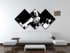 Annie Lennox on stage 4 Square Multi Panel Canvas - Canvas Art Rocks - 3