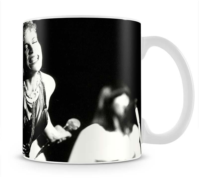 Annie Lennox on stage Cup - Canvas Art Rocks - 1