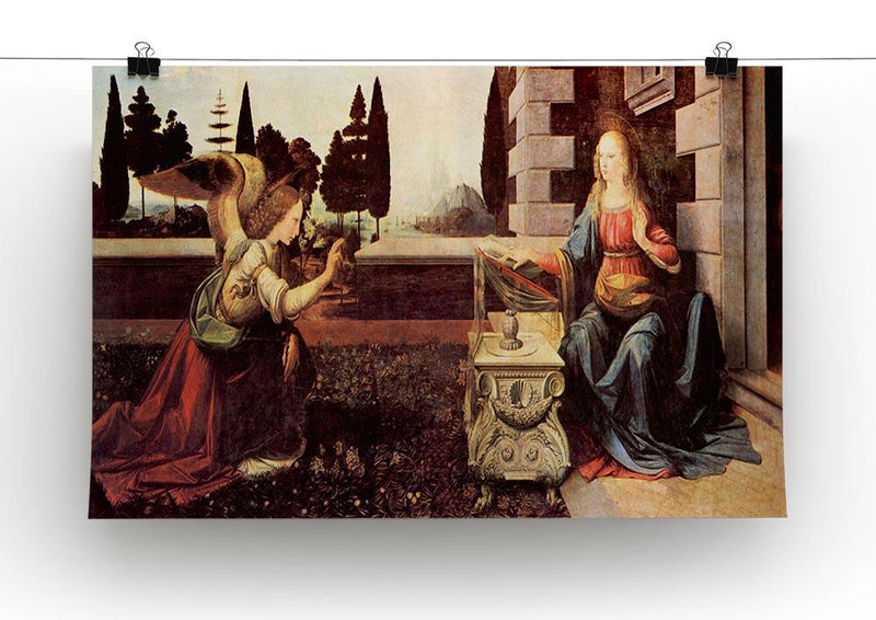 Announcement to Maria 2 by Da Vinci Canvas Print & Poster - Canvas Art Rocks - 2